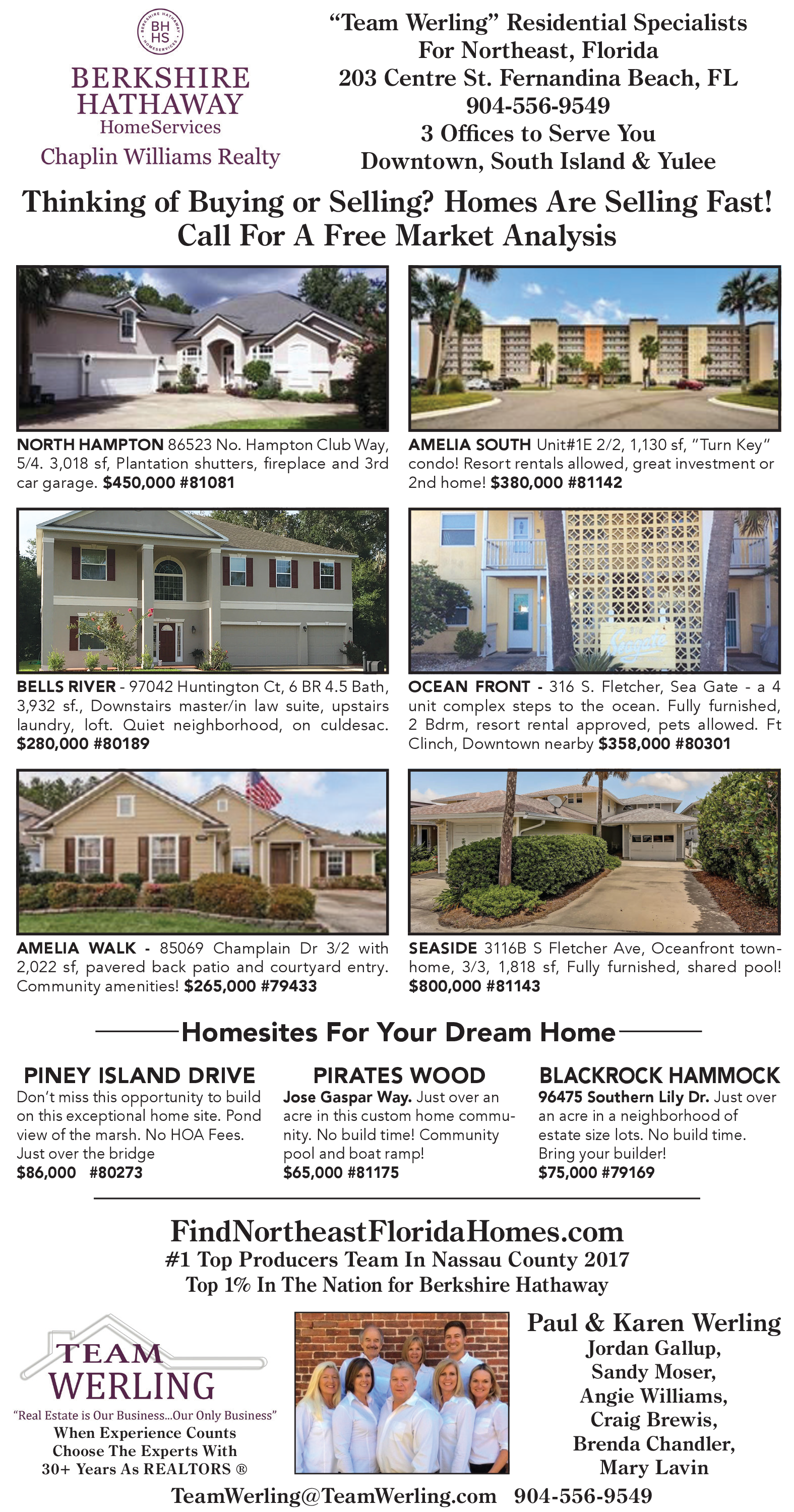 Homes Are Selling Fast in Fernandina Beach, FL, Real Estate