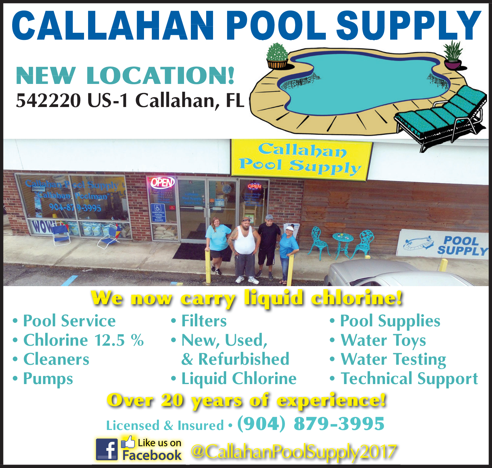 Retail Store for All Swimming Pool Products in Callahan, FL ...